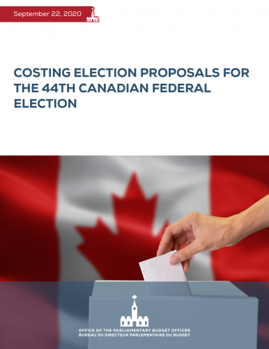 Costing Election Proposals for the 44th Canadian Federal Election