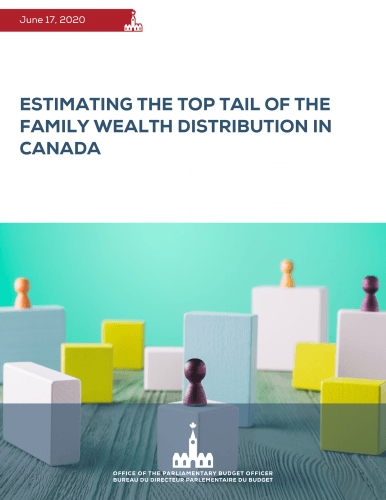 Estimating the top tail of the family wealth distribution in Canada