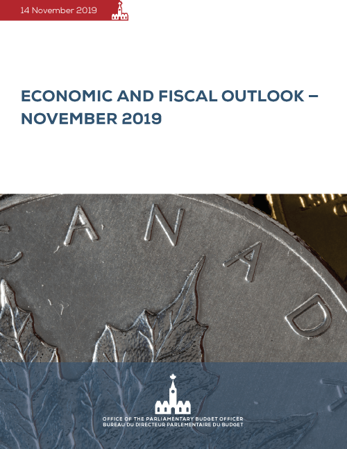 Economic and Fiscal Outlook – November 2019