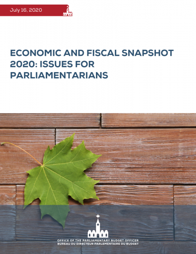 Economic and Fiscal Snapshot 2020: Issues for Parliamentarians