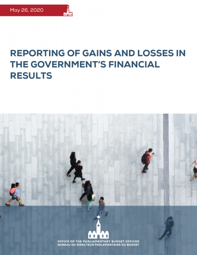 Reporting of Gains and Losses in the Government's Financial Results