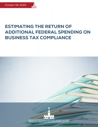 Estimating the Return of Additional Federal Spending on Business Tax Compliance