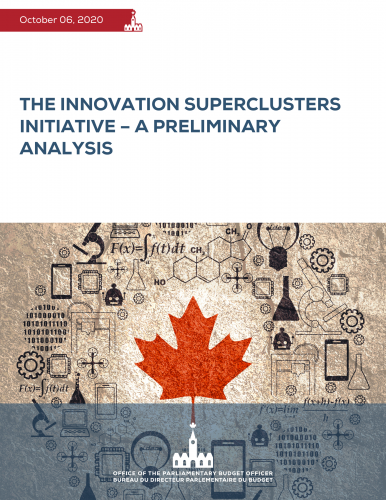 The Innovation Superclusters Initiative – A Preliminary Analysis