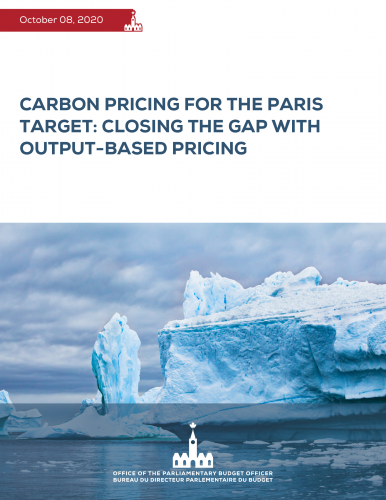 Carbon pricing for the Paris target: Closing the gap with output-based pricing