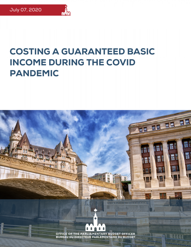 Costing a Guaranteed Basic Income During the COVID Pandemic