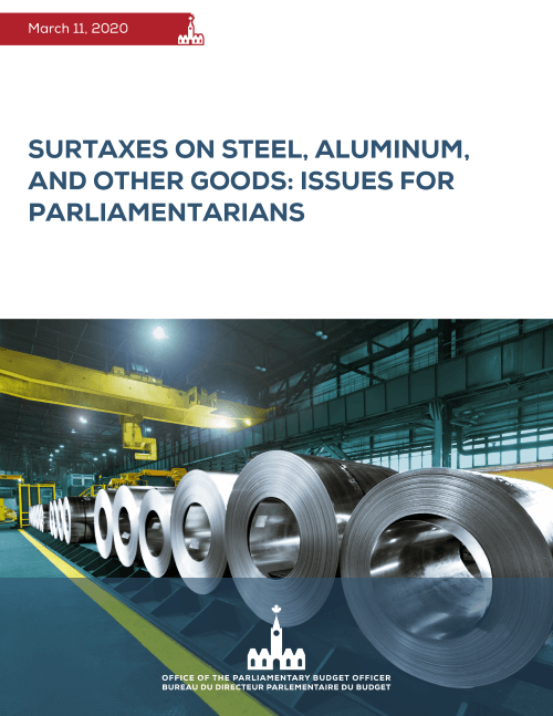 Surtaxes on Steel, Aluminum, and Other Goods: Issues for Parliamentarians