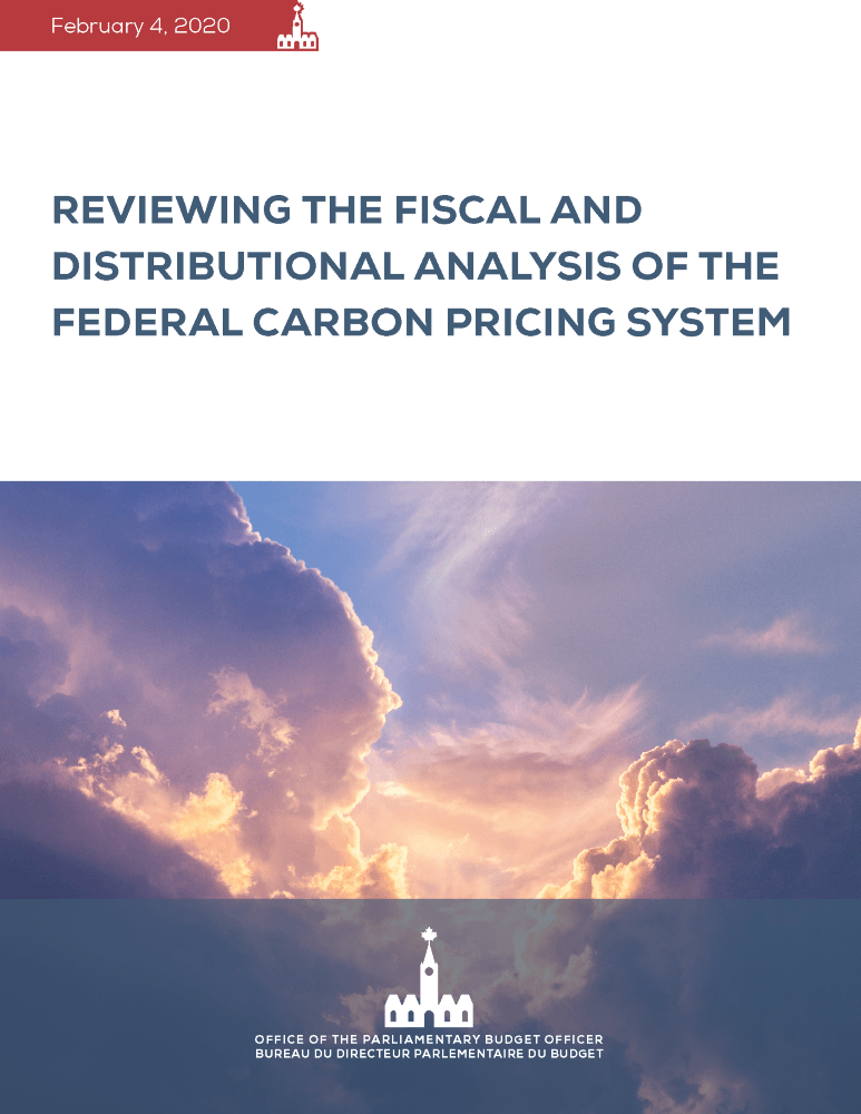 Reviewing the Fiscal and Distributional Analysis of the Federal Carbon Pricing System